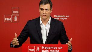 """Sánchez diu que ETA fa """"un gran pas"""" i Rivera que la banda s'ha de dissoldre"""