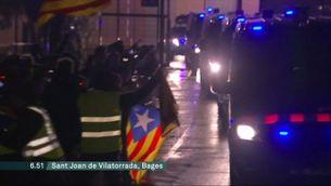 Els 9 presos i preses independentistes són traslladats a Madrid