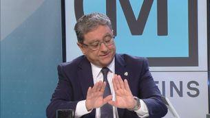 Quan Enric Millo va dir demanar disculpes en nom dels agents que van intervenir l'1-O