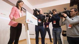La portaveu d'ERC, Marta Vilalta, ha avisat el PSOE que no preveu un acord d'investidura fins al gener (EFE/Marta Pérez)
