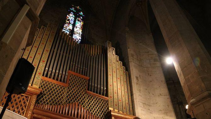 """""""Crida SOS"""" per salvar l'orgue de la Seu de Manresa"""