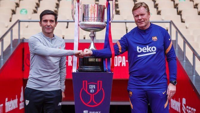 El Barça desafia l'Athletic Club per proclamar-se campió de la Copa del Rei