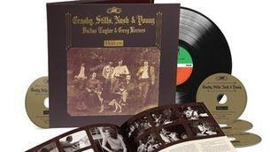 """Portada de la reedició del disc """"Déjà Vu"""" de Crosby, Stills, Nash & Young"""