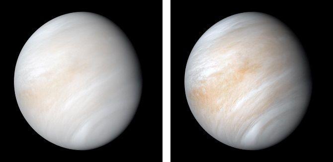 Imatge de Venus captada per la sonda Mariner 10