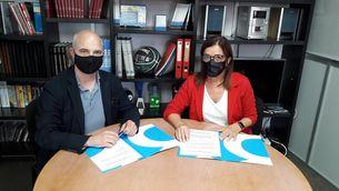 La CCMA i Badalona Comunicació signen un acord per a la promoció i difusió de les activitats de la 47a edició de FILMETS Badalona Film Festival