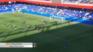 El Barça goleja un Nàstic amb deu (4-0)