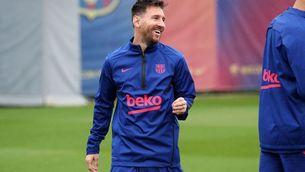 Leo Messi no s'entrenarà amb el Barça fins que no renovi