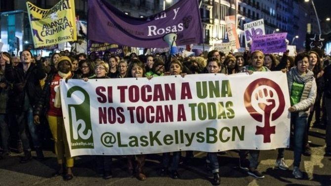 Manifestació de Las Kellys