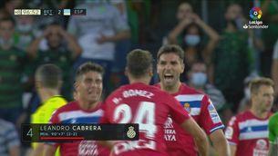 Resum del Betis - Espanyol (2-2)