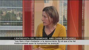 Carme Forcadell, presidenta de l'Assemblea Nacional Catalana (ANC)