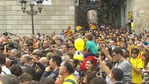 La Diada a la Generalitat i el Parlament