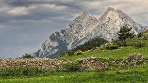 La imatge del Pedraforca que ha guanyat el concurs Wiki Loves Earth. (Foto: Mikipons / Wikimedia Commons)