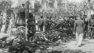 Recorregut escenaris guerra civil Barcelona a través de fotos de Centelles