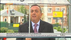 Rajoy espera Puigdemont obert al diàleg, però tancat a les concessions