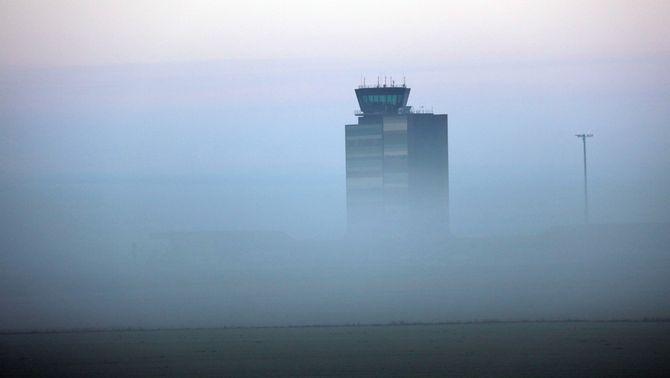 El turoperador britànic Thomas Cook que va engegar la temporada el 21 de desembre encara no ha pogut aterrar a l'Aeroport de Lleida (ACN)