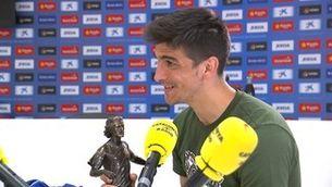 """Gerard Moreno: """"Si marxo, és perquè l'Espanyol necessita ingressos"""""""