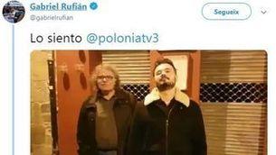 """Rufián i Tardà (els reals) parodien el malamente de Rosalía al """"Polònia"""""""