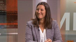 Adriana Ribas explica les conclusions de l'informe sobre el judici del Procés