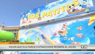 Imatge de:El sector firaire reclama que es reobrin els parcs d¿atraccions