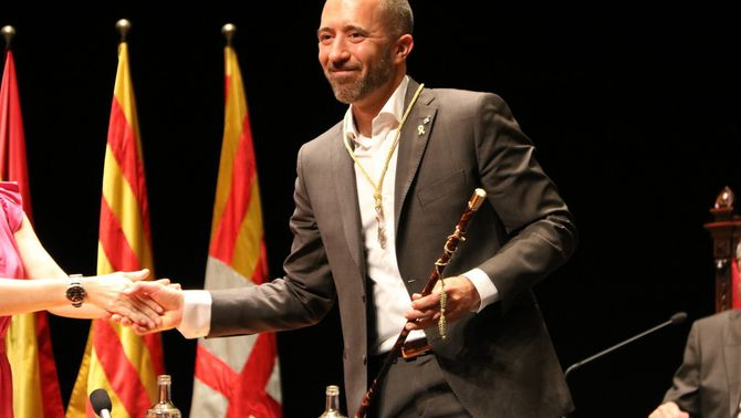 Marc Aloy, d'ERC, nou alcalde de Manresa en el relleu pactat amb JxCat