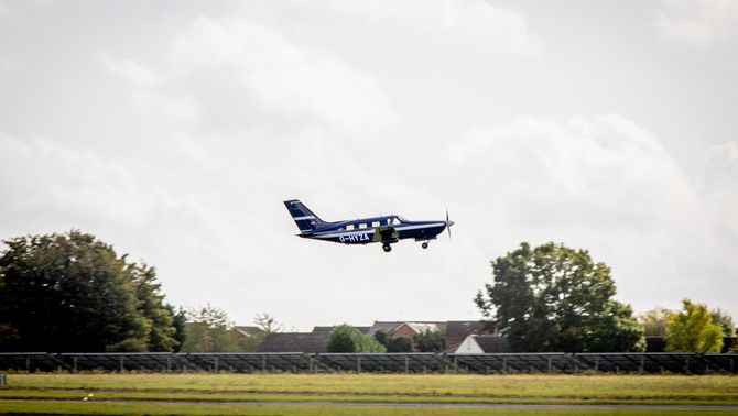 L'avió Piper Malibu de Zero Avia propulsat amb hidrogen