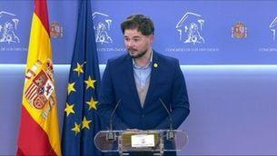 ERC anuncia un preacord amb Sánchez per aprovar els pressupostos