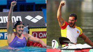 Mireia Belmonte i Saúl Craviotto seran els abanderats espanyols als Jocs Olímpics