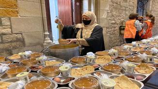 Els plats són els tradicionals de la cultura musulmana pel Ramadà