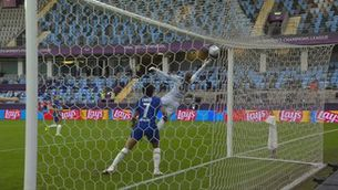 El gol surrealista de la final de Champions