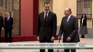 Localitzat a Andorra un compte vinculat al rei emèrit Joan Carles I