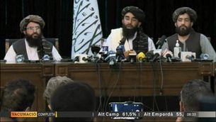 Els talibans ofereixen una imatge de moderació per buscar el reconeixement internacional