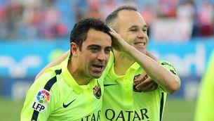 """Iniesta: """"Xavi està capacitat per entrenar el Barça"""""""