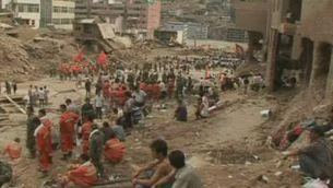 Més de 300 morts i 1.000 desapareguts per esllavissades a la Xina