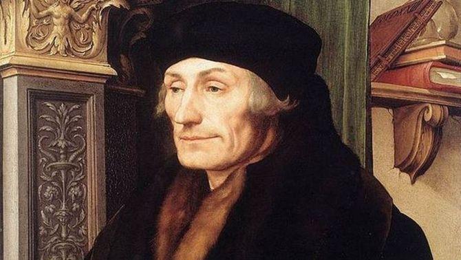Un historiador sosté que Erasme de Rotterdam era català i fill de Colom