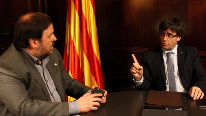 "Junqueras respon a la carta de Montoro: ""No aplicarem cap retallada afegida"""