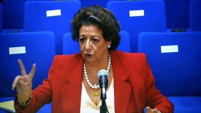 El jutge demana al Suprem que imputi Rita Barberá per blanqueig de capitals