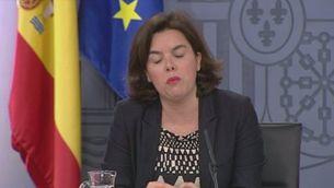 Declaracions de Soraya i Puigdemont