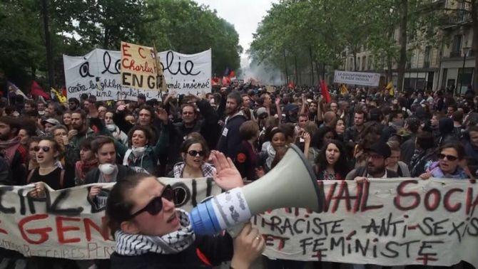 Hollande amenaça de prohibir les pròximes manifestacions contra la reforma laboral