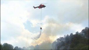Incendis simultanis cremen al País Valencià