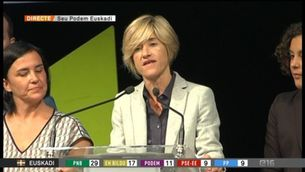 Podem aconsegueix 11 escons a Euskadi