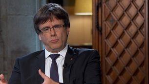 """Puigdemont: """"El 2 d'octubre Rajoy ja no serà un interlocutor vàlid"""""""