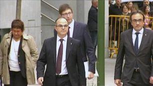 El Suprem obre judici oral als líders sobiranistes