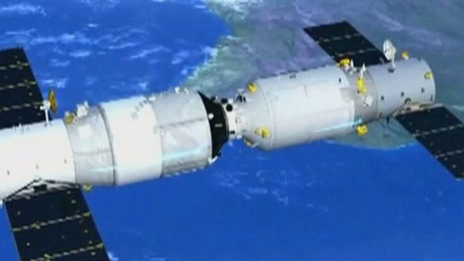 La Xina destrueix el laboratori espacial Tiangong 2 de manera controlada