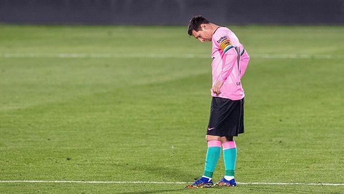 El Barça encaixa la primera derrota de la temporada a Getafe amb un gol de penal de Jaime Mata (1-0)