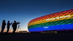 La UEFA no vol l'arc de Sant Martí a l'Allianz de Munic