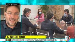 """Albano-Dante Fachín: """"Sánchez ha aconseguit no moure's del seu lloc gràcies a l'independentisme"""""""