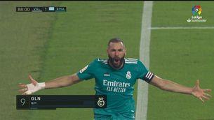 Resum del València - Reial Madrid (1-2)