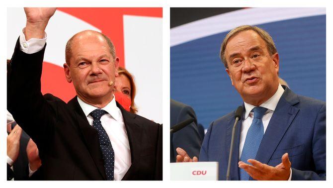 Eleccions a Alemanya: frec a frec entre l'SPD i la CDU, segons les projeccions