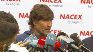 Julio Salinas, ofès per la comparació amb Luuk de Jong