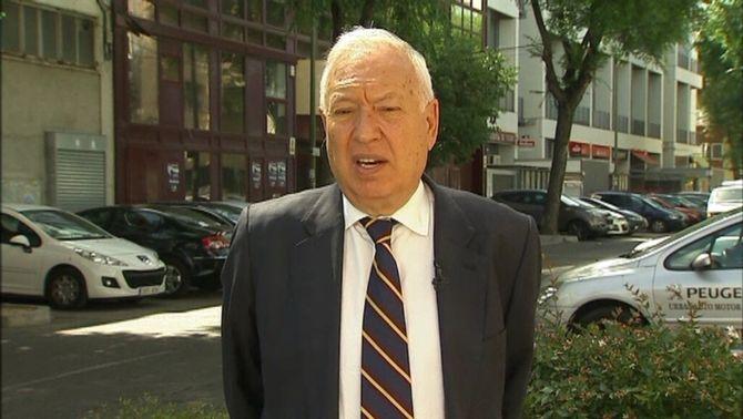 """García-Margallo demana """"cosobirania angloespanyola"""" a Gibraltar"""